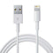 Cable para Iphone y Ipad USB-1000mA -Blanco | Para iPhone y iPad lightning
