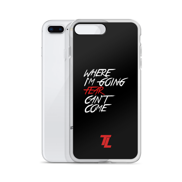 Fear Can't Come iPhone Cases