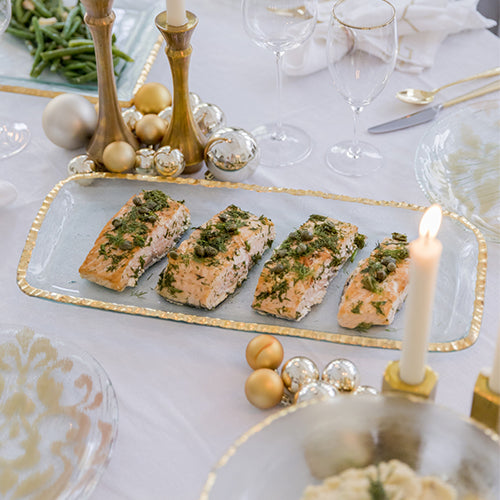 Set Your Holiday Table with Gold