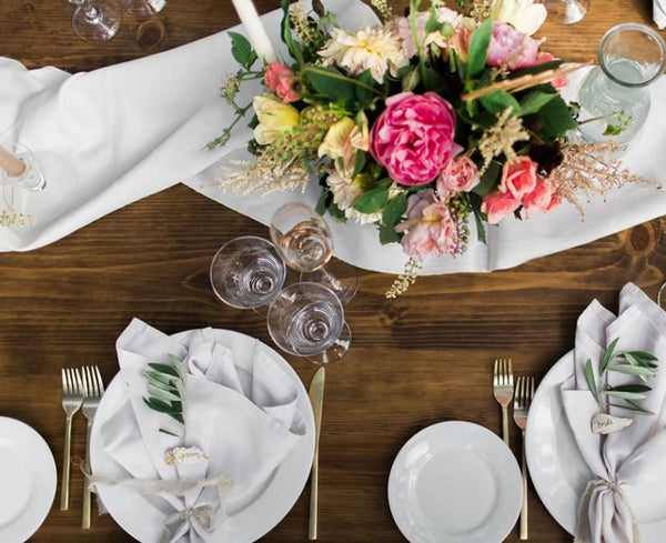 Wedding Wednesday -  A Fragrant Big Day Banquet by Brides Magazine