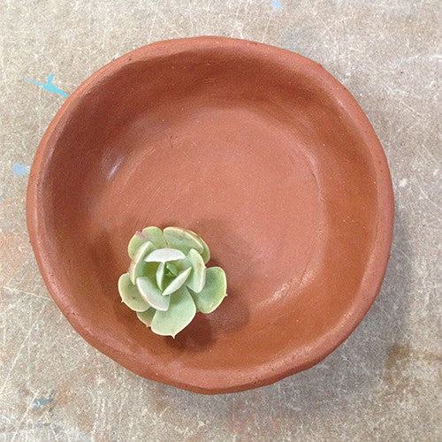 Craft Your Own Terracotta Succulent Pinch Pot Workshop