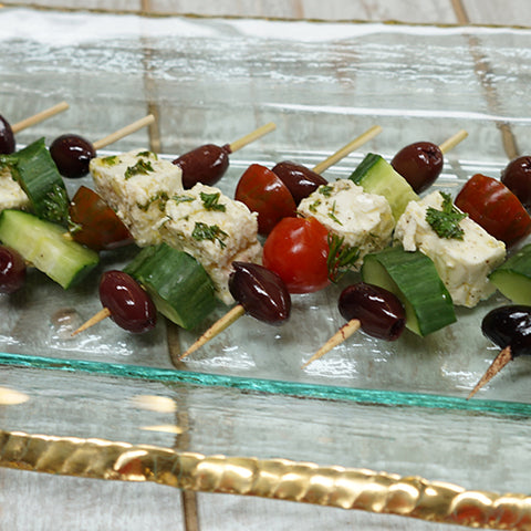 Greek Salad Skewers - Delicious Summer Recipe