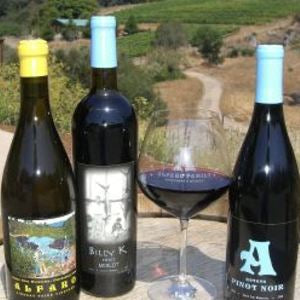 Alfaro Family Vineyards Wine Tasting at Annieglass Watsonville
