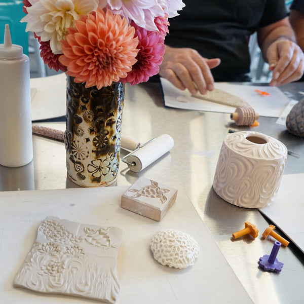 Make A Vase With Clay Workshop Annieglass