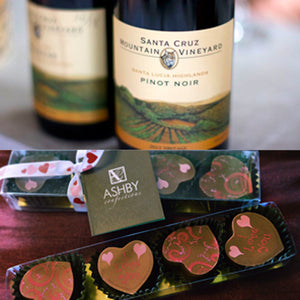 Wine and Chocolate Tasting Event at Annieglass Watsonville