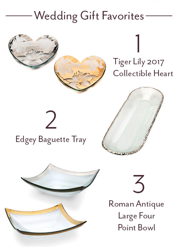 annieglass wedding registry favorite