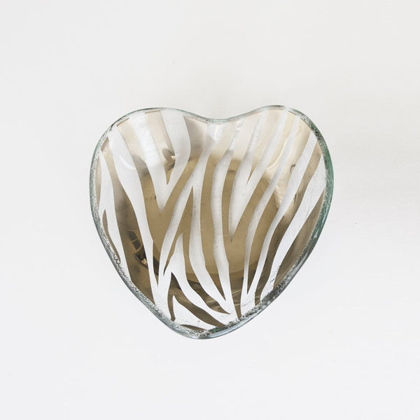 Zebra Heart Bowl