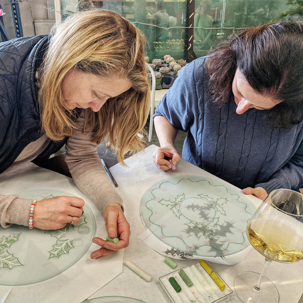Make A Set of 4 Salad Plates Workshop  (11/23, 11/30)