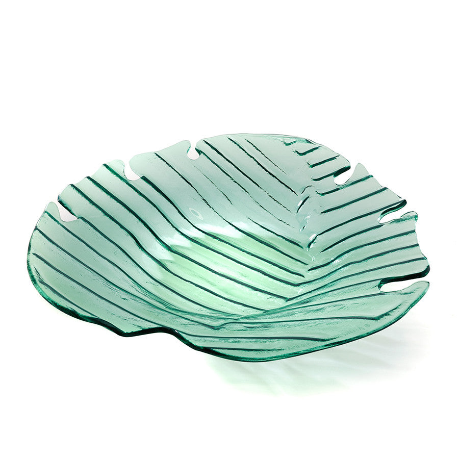 Leaves Palm Frond Large Platter