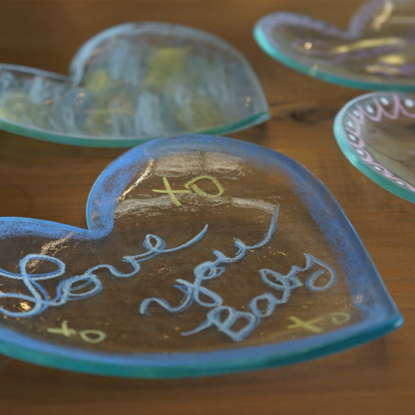 Make a Heart Plate w/Annie Workshop (2/1)