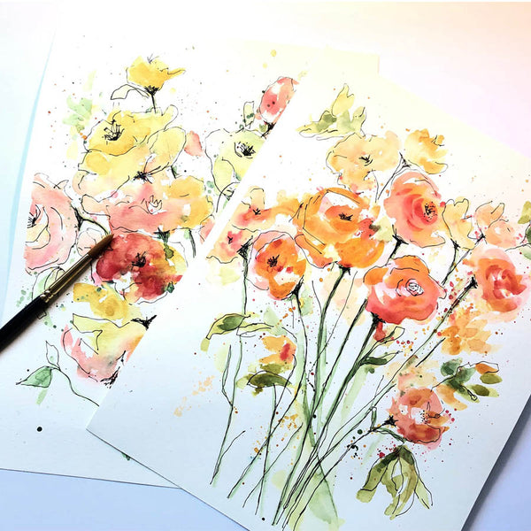 POSTPONED - Spring Flowers Watercolor Workshop (4/4)