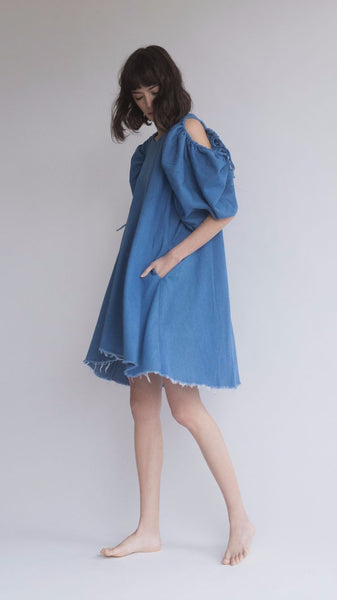Blue Snow Dress