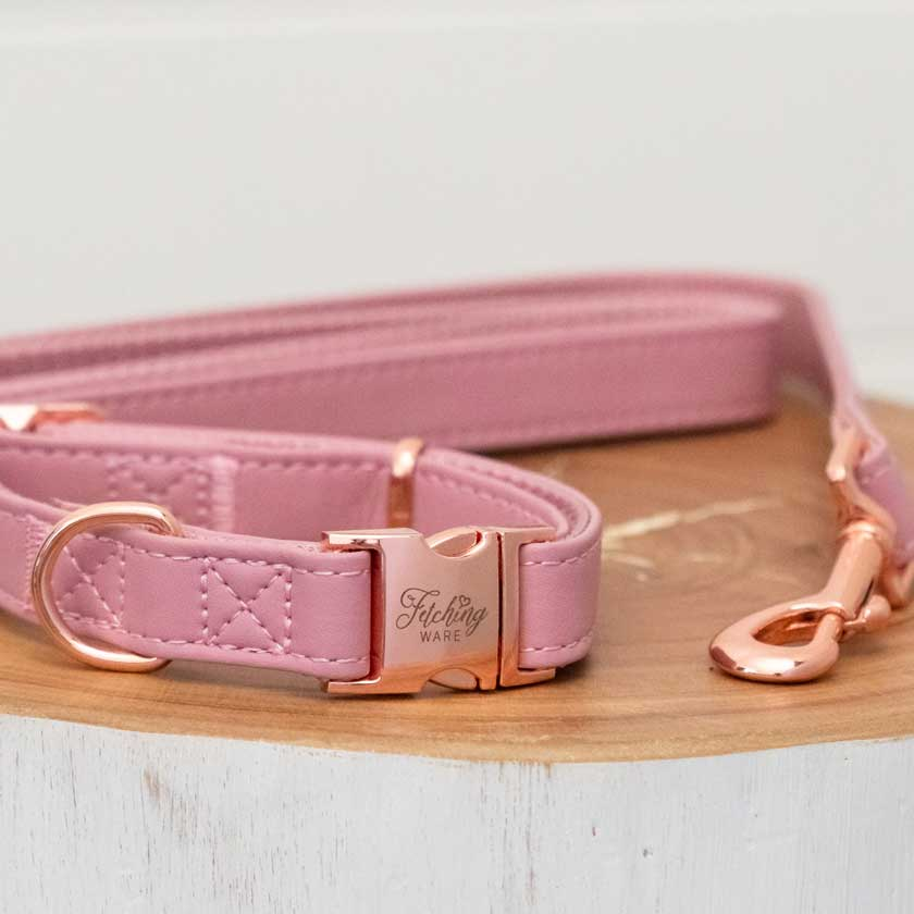 Rose Gold Dog Collars