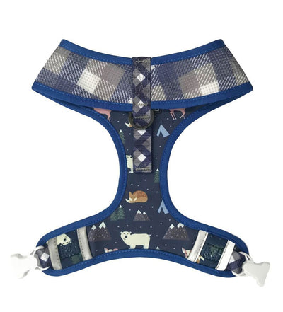 Big & Little Scandi Forest - Reversible Dog Harness