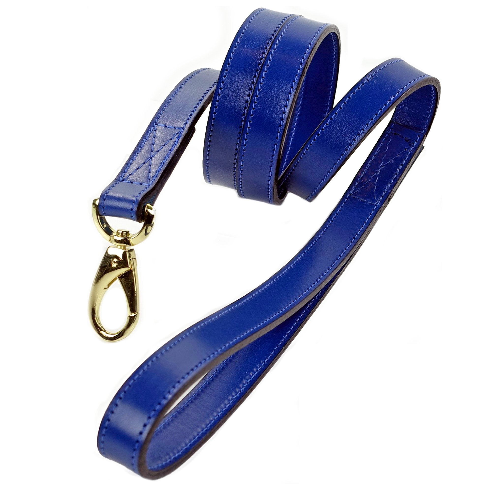 Hartman & Rose Cobalt Blue - Gold Hardware Leads