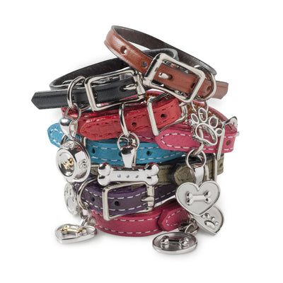 Lisa Welch Dog Themed Jewellery - Leather braclets