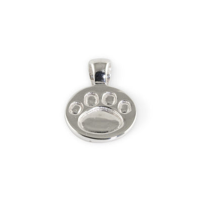Lisa Welch Dog Themed Jewellery - Paw Print Sterling Silver Pendant