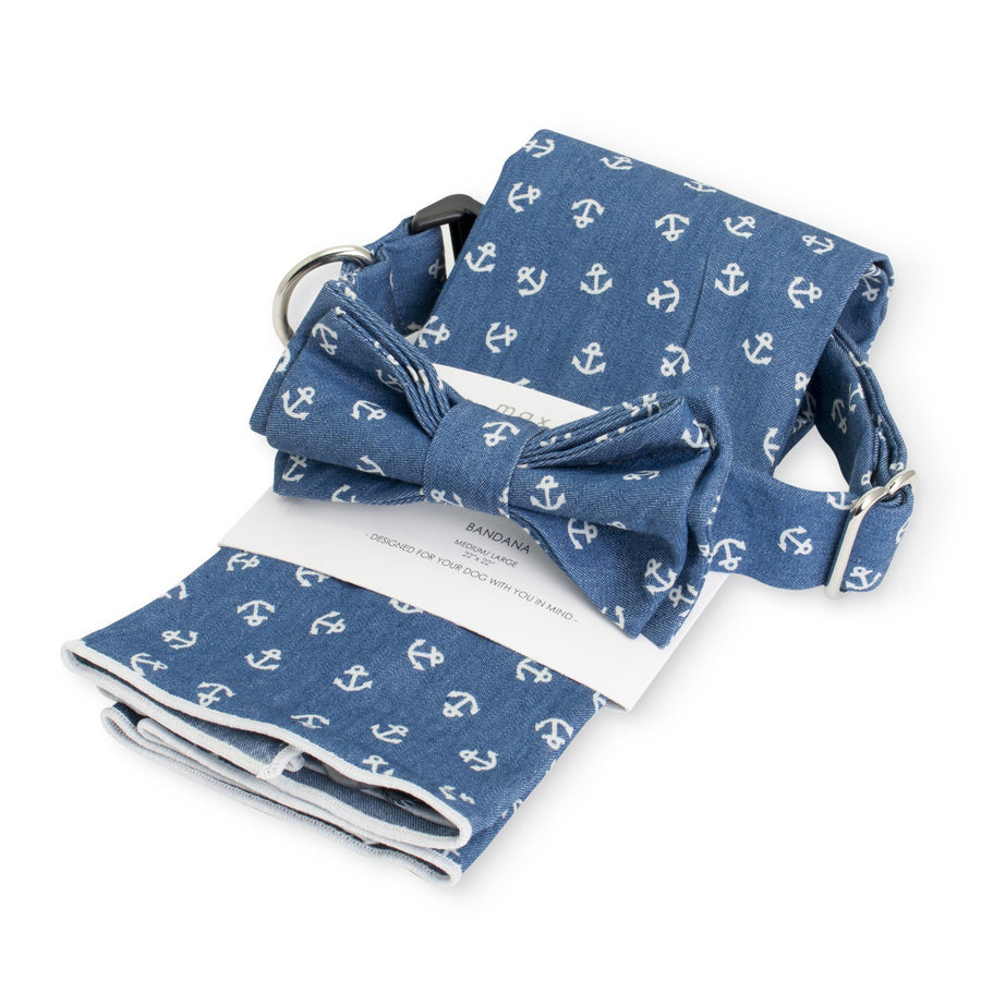 Max Bone Matching Matilda Bandana and Bow Tie set