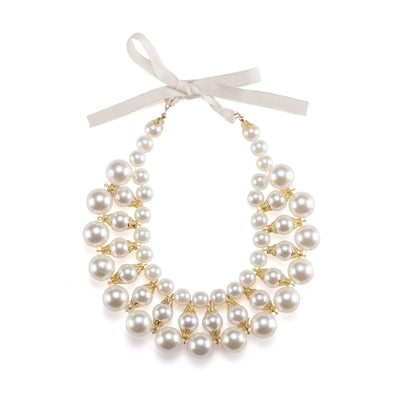 Moshiqa Dubai Costume Jewellery Pearl Necklace