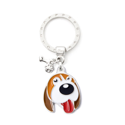 My Family Beagle Pendant and Keychain