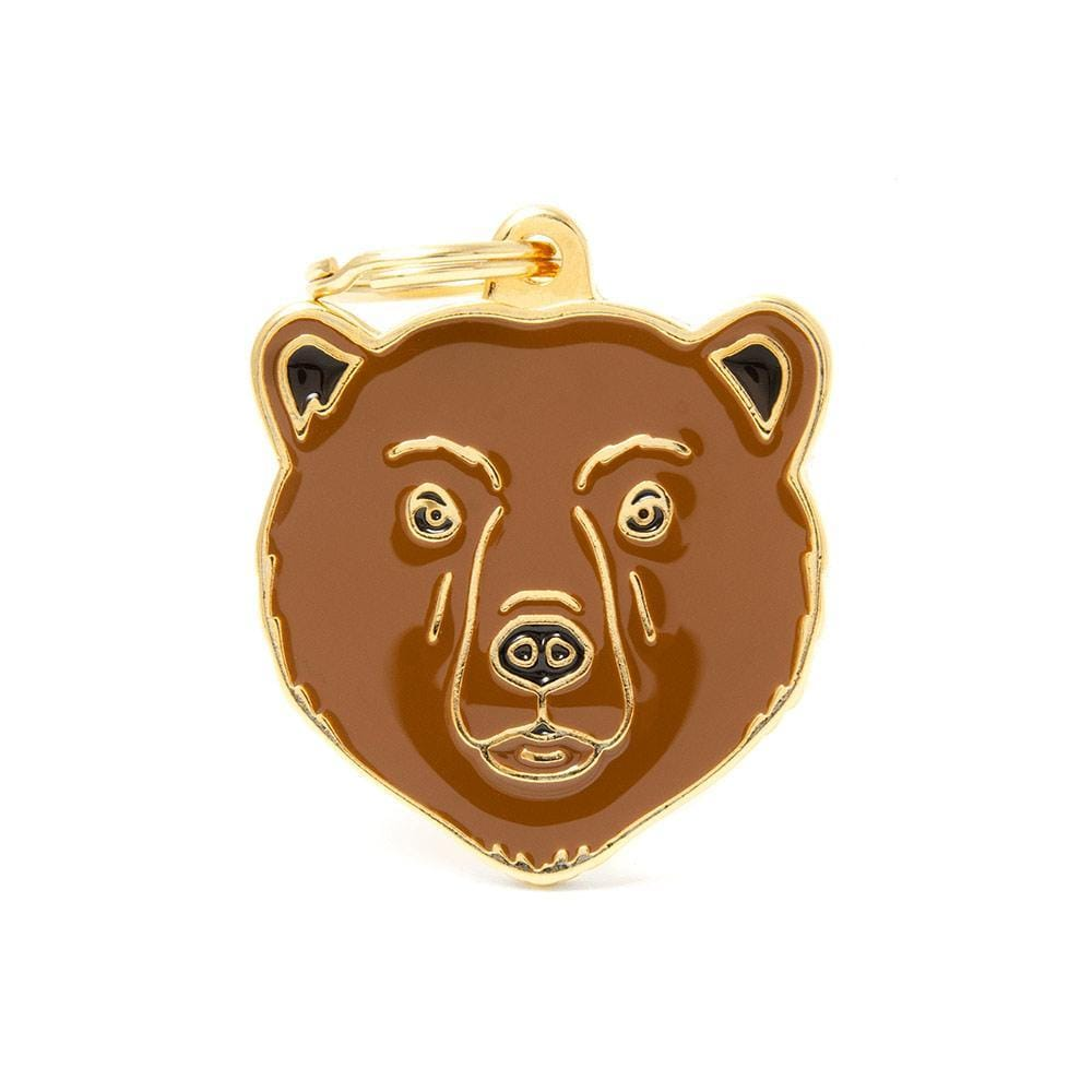 My Family Bear Dog I.D. Tags - 3B