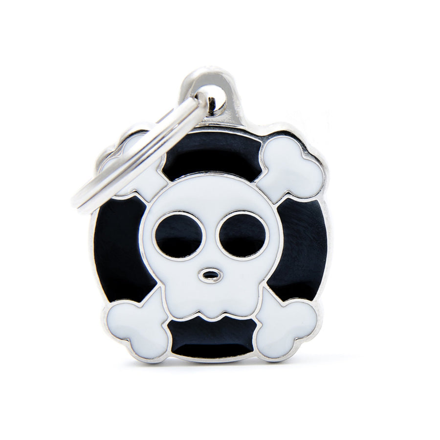 My Family Charms Skull Pet I.D. TAG