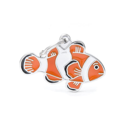 My Family Clownfish Dog I.D. Tags - 2B