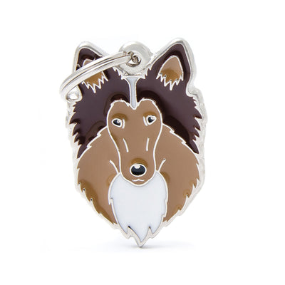 My Family Collie Dog I.D. Tags - 3B