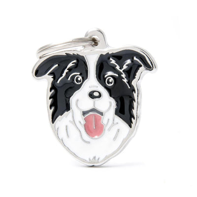 My Family Default Title Border Collie Dog I.D. Tags - 3B