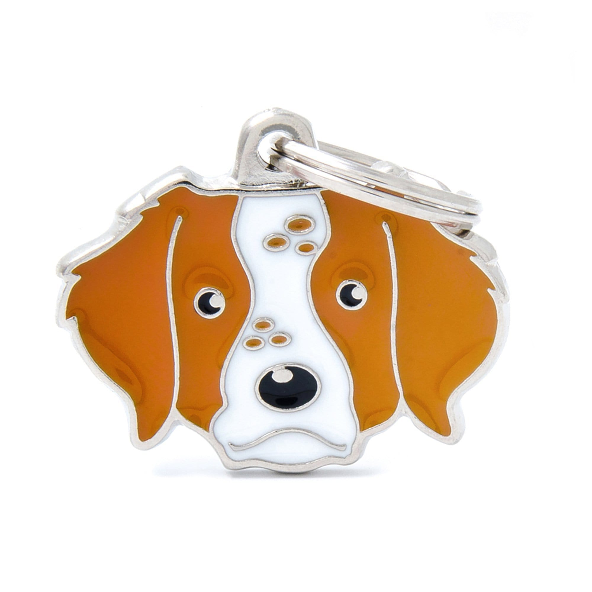 My Family Default Title Brittany Dog I.D. Tags - 3B