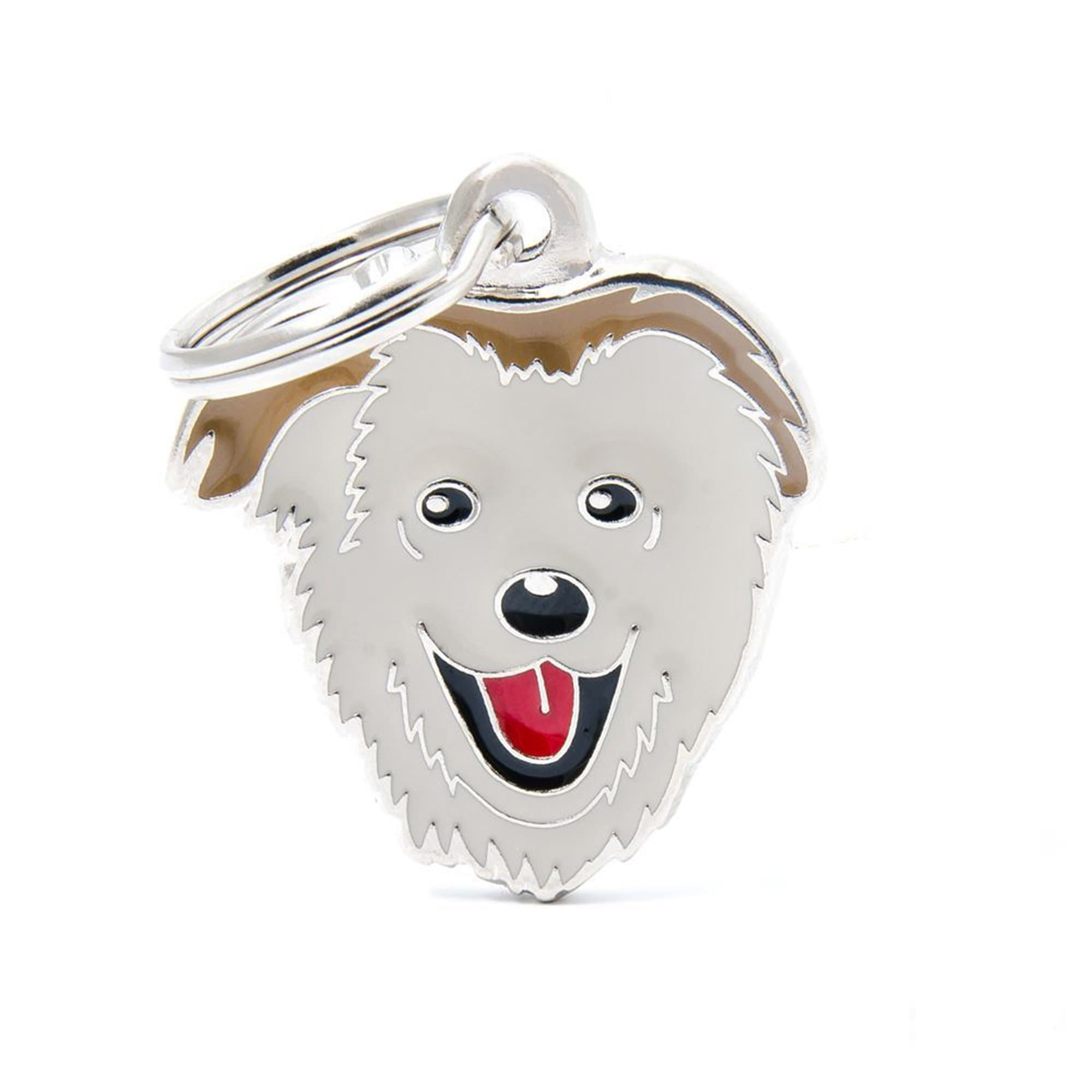 My Family Default Title Mixed Breed Dog I.D. Tags - 3B