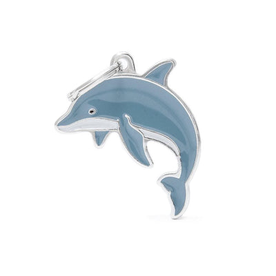 My Family Dolphin Dog I.D. Tags - 2B