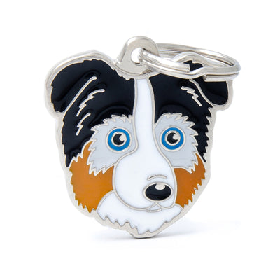 My Family Friends Australian Shepherd Dog I.D. Tag