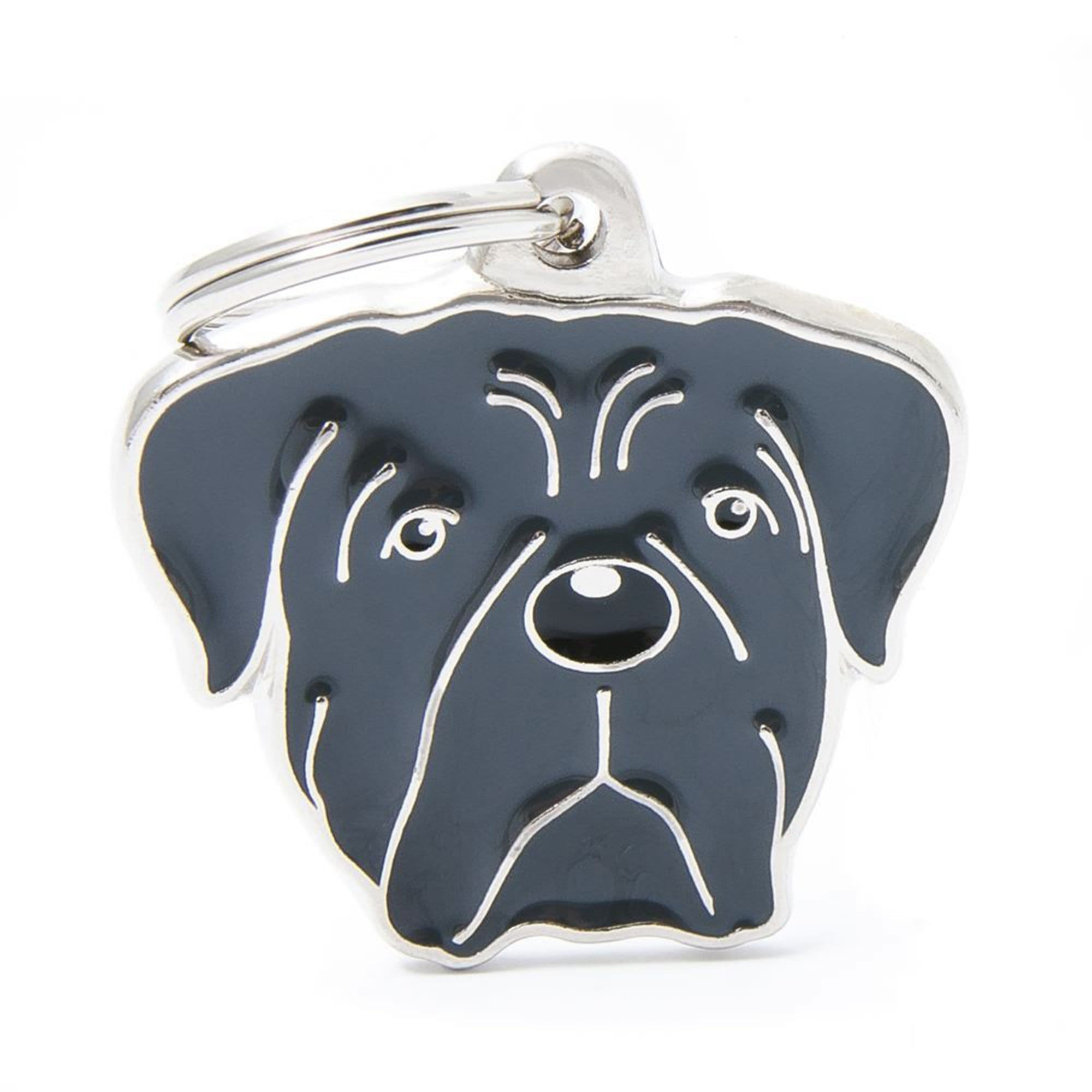 My Family Grey Corso Dog I.D. Tags - 3B