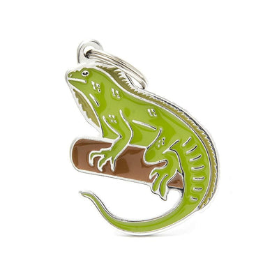 My Family Iguana Dog I.D. Tags - 2B