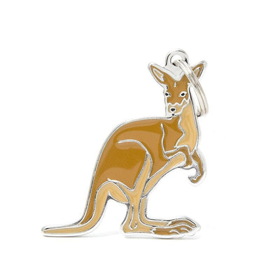 My Family Kangaroo Dog I.D. Tags - 3B