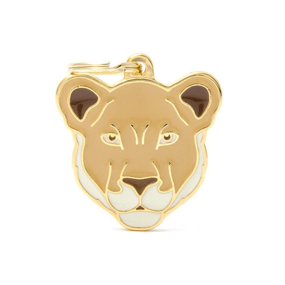 My Family Lioness Dog I.D. Tags - 3B