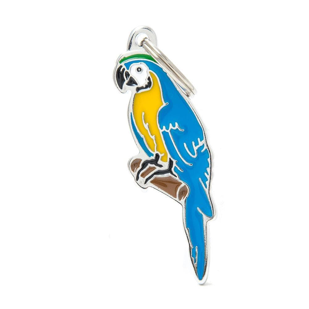 My Family Parrot Dog I.D. Tags - 2B