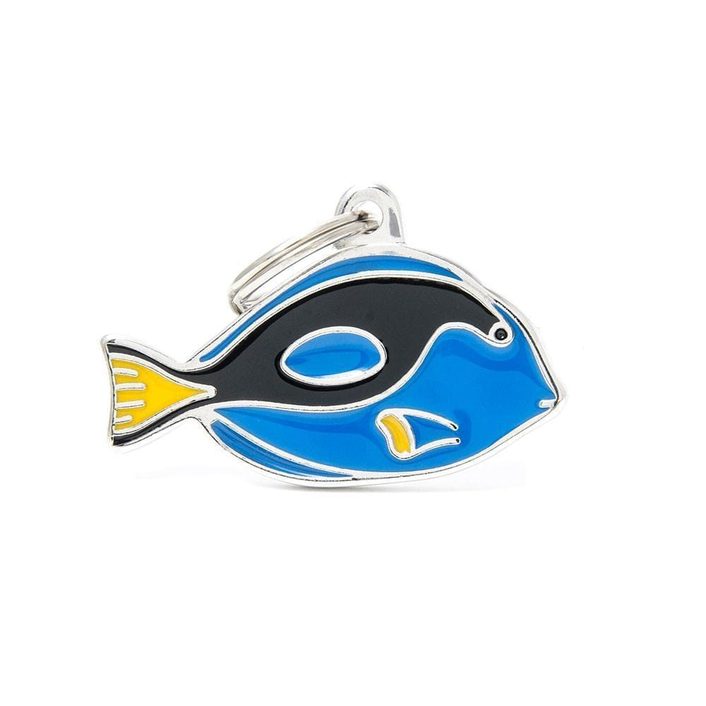 My Family Surgeonfish Dog I.D. Tags - 2B