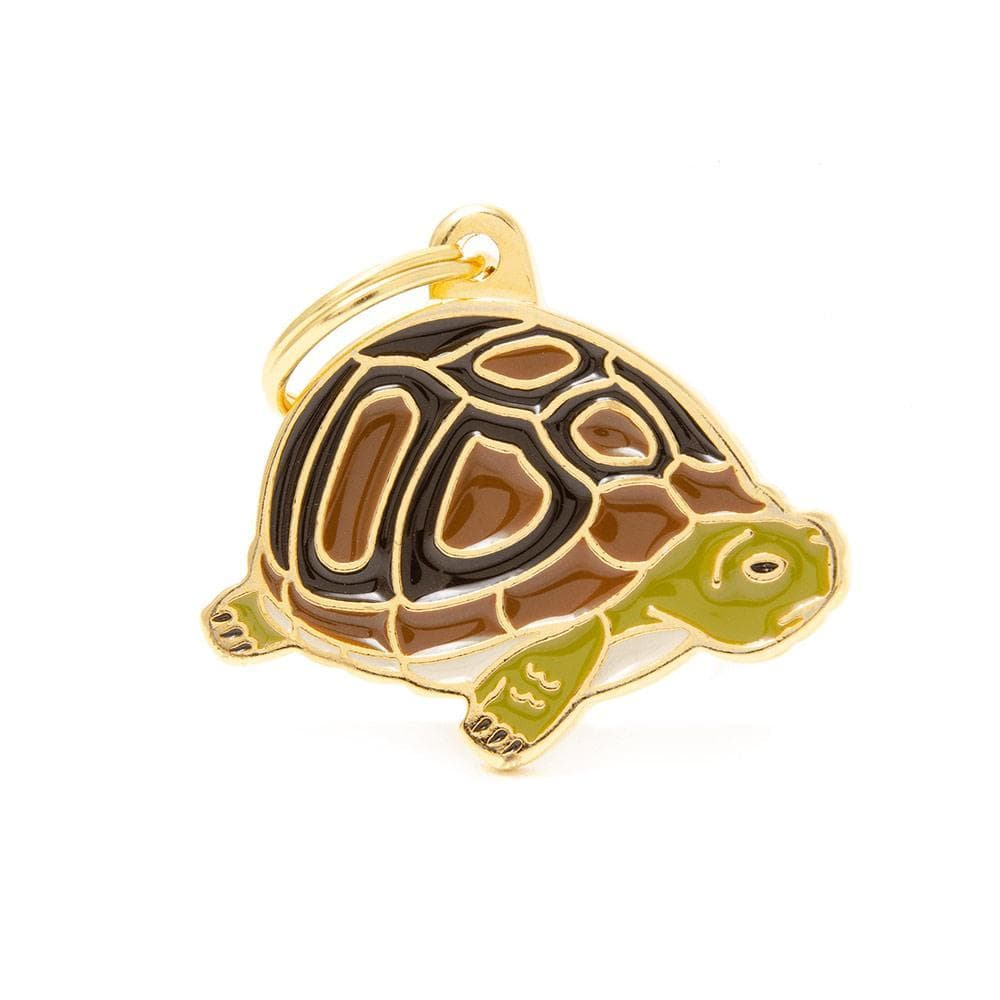 My Family Turtle Dog I.D. Tags - 3B