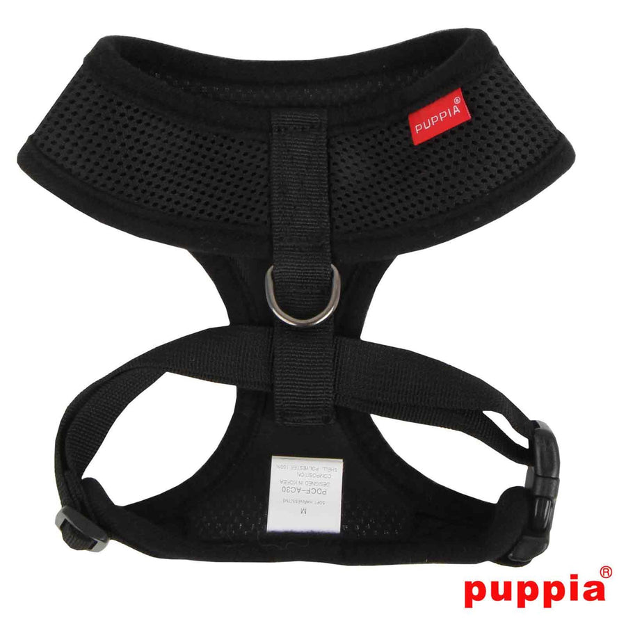 Puppia Black Puppia Soft Harness Harness