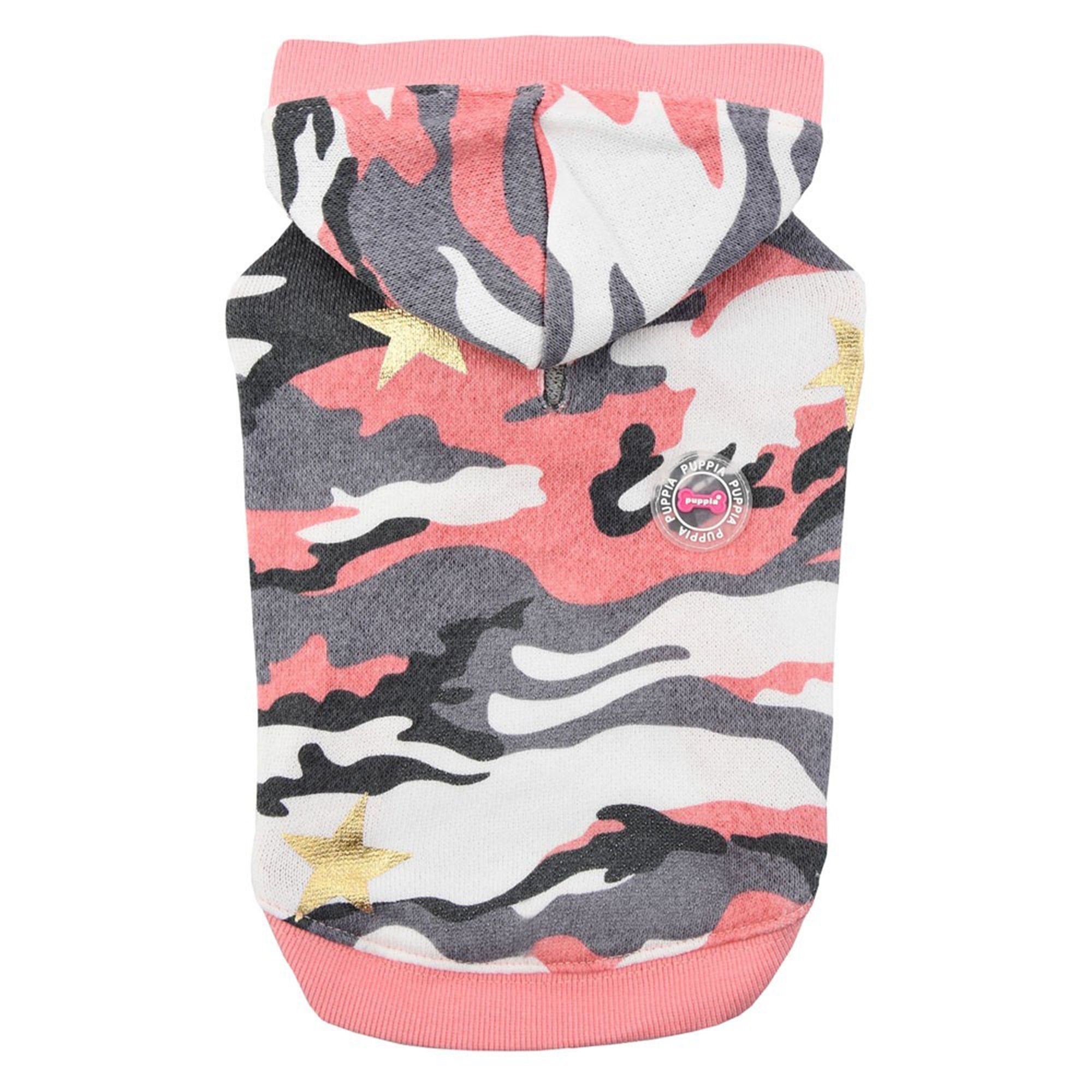 Puppia Ensign Pink Camouflage