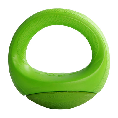 Rogz Small / Medium / Lime Rogz Pop Upz Throw Toy in Blue, Red, Orange, Pink, and Lime