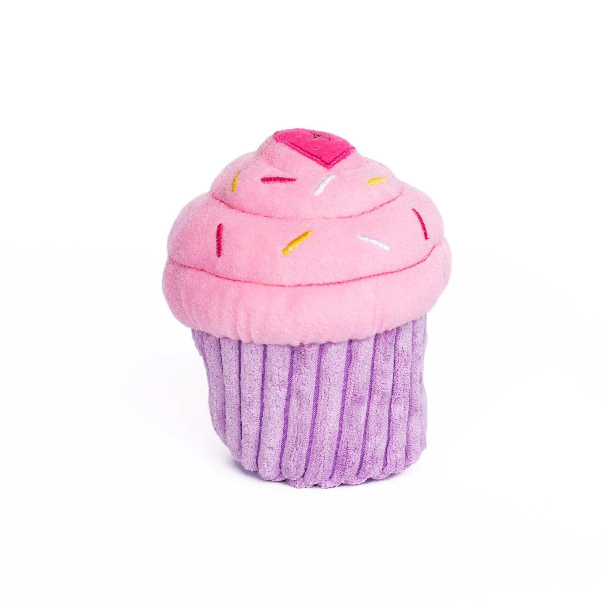 Zippy Paws Cupcake Pink Dog Toys