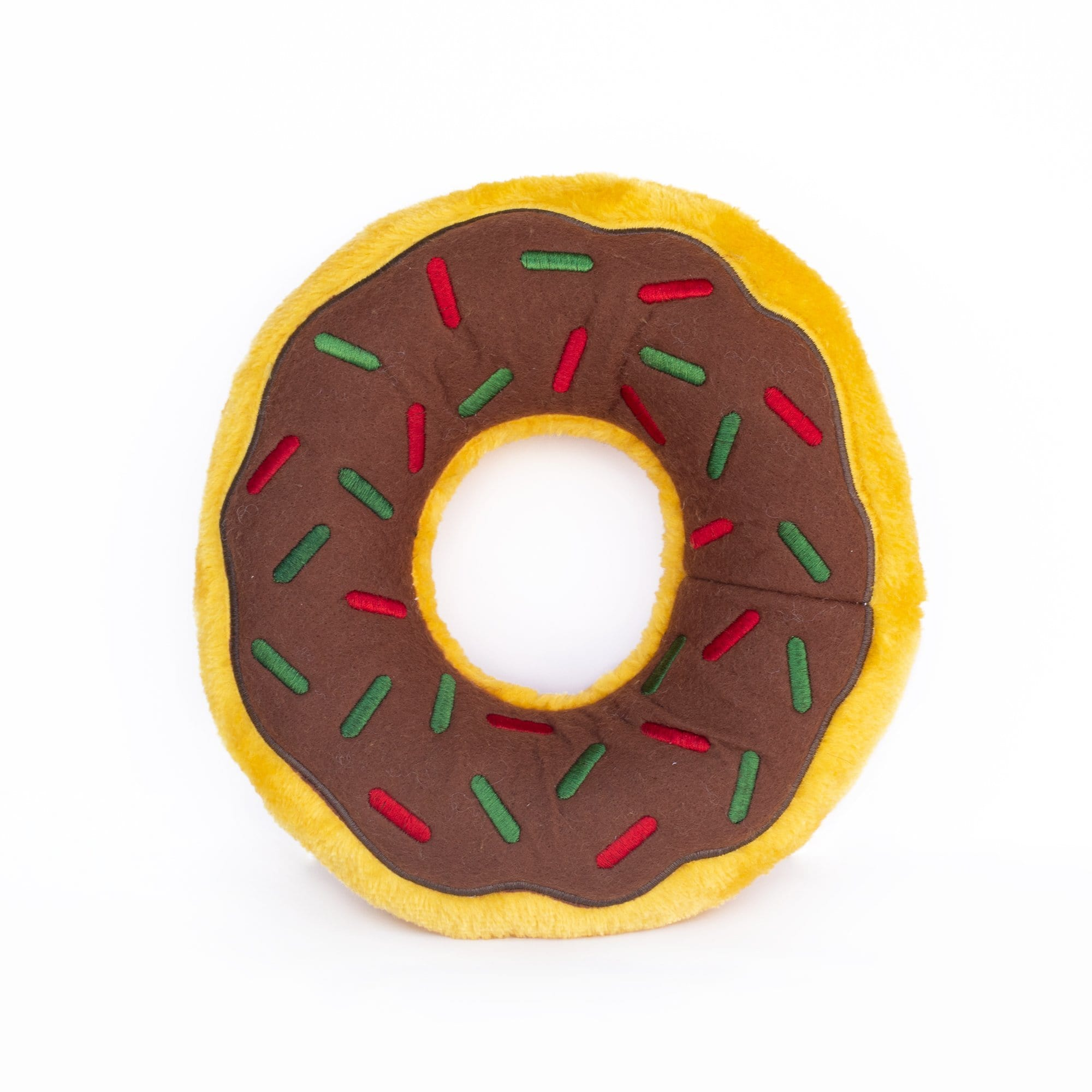 Zippy Paws Donutz - Gingerbread Dog Toys