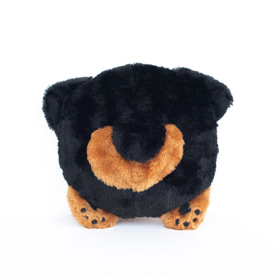 Zippy Paws German Shepherd Bun Dog Toys