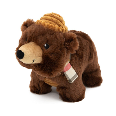 Zippy Paws Grunterz - Bear Dog Toys