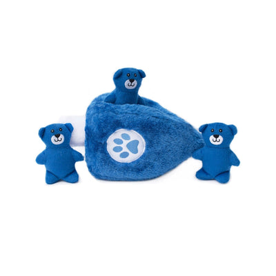 Zippy Paws Hanukkah Zippy Burrow - Dreidel