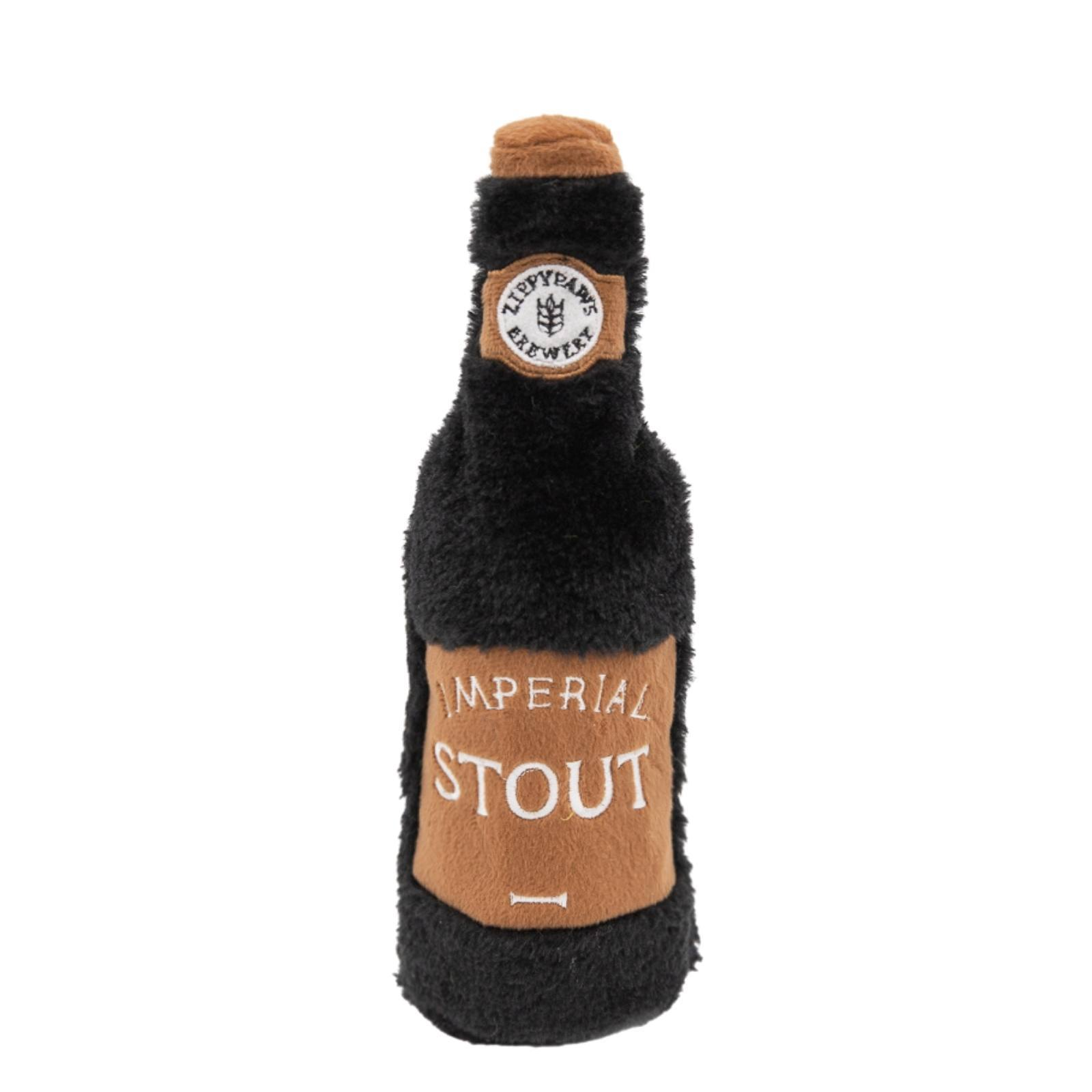Zippy Paws Happy Hour Crusherz - Stout Dog Toys