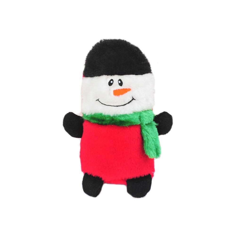 Zippy Paws Holiday Colossal Buddie - Snowman